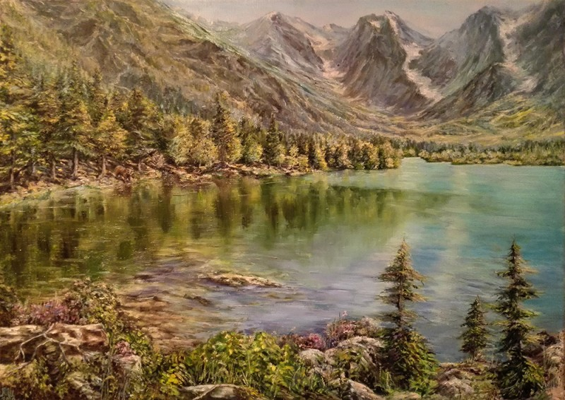 Живопись маслом пейзаж