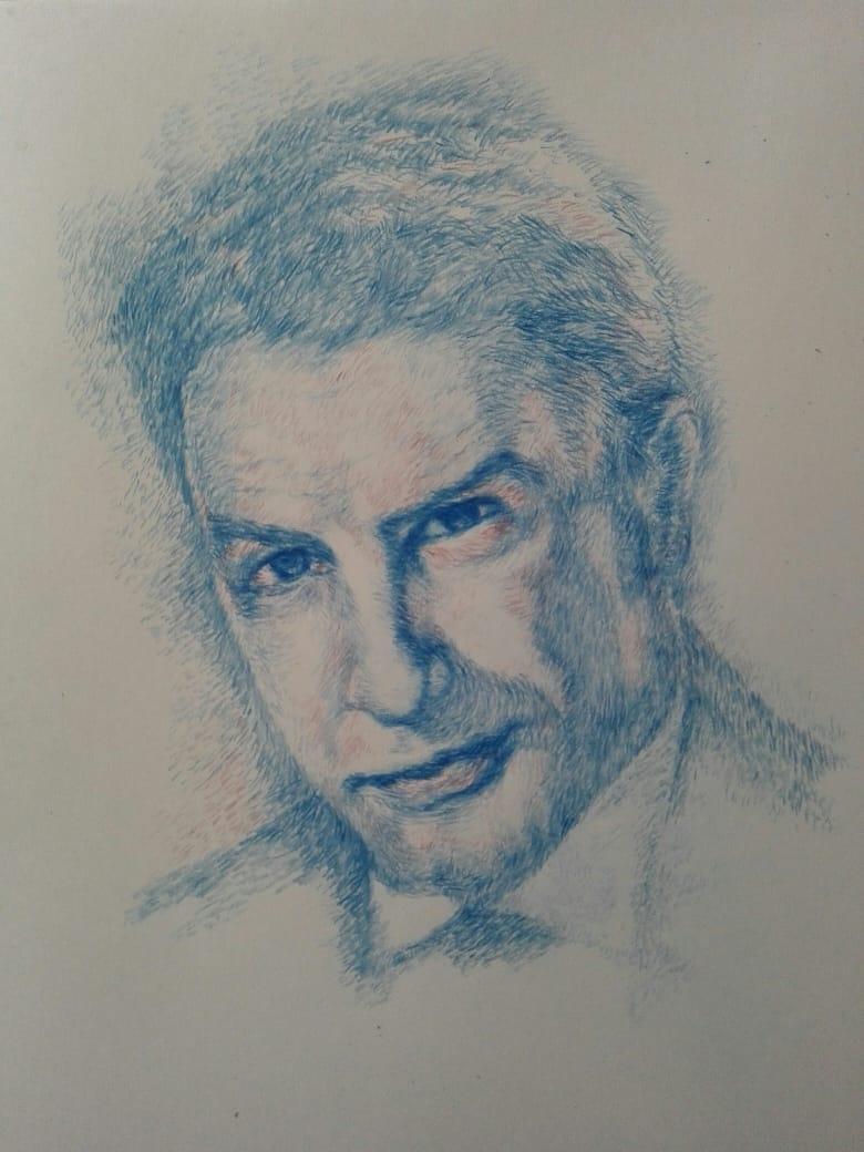 Портрет, рисунок, графика