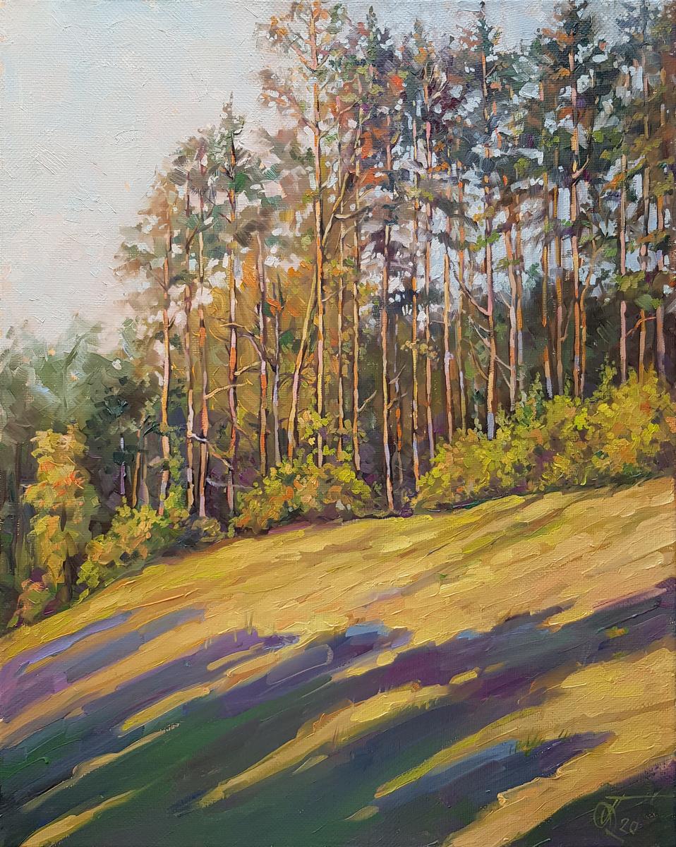 Александр Буданов живопись маслом пейзаж