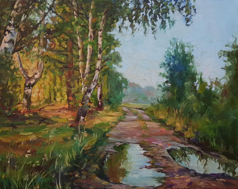 Артинтент - живопись маслом пейзаж