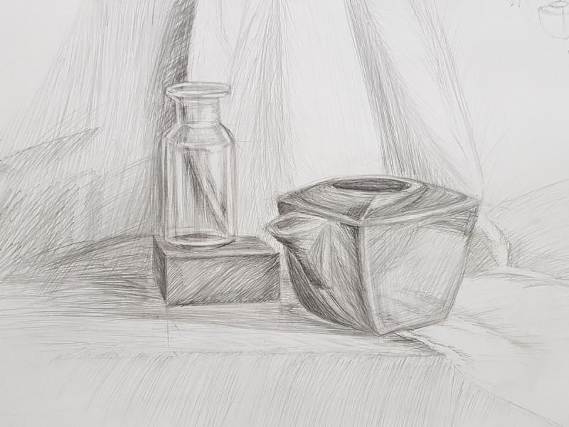 Артинтент - рисование карандашом для начинающих