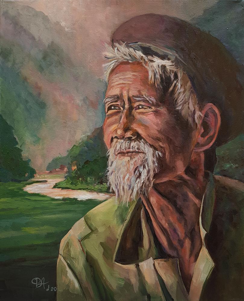 Артинтент - живопись маслом портрет