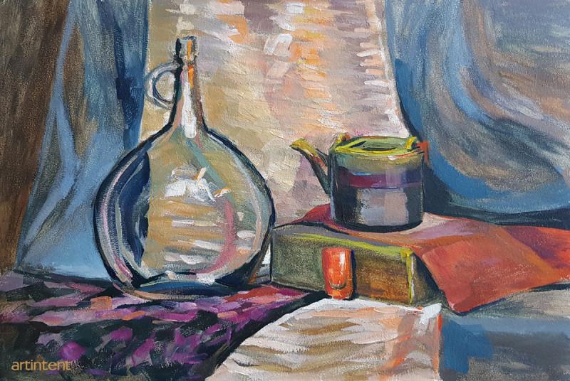Артинтент - живопись маслом натюрморт