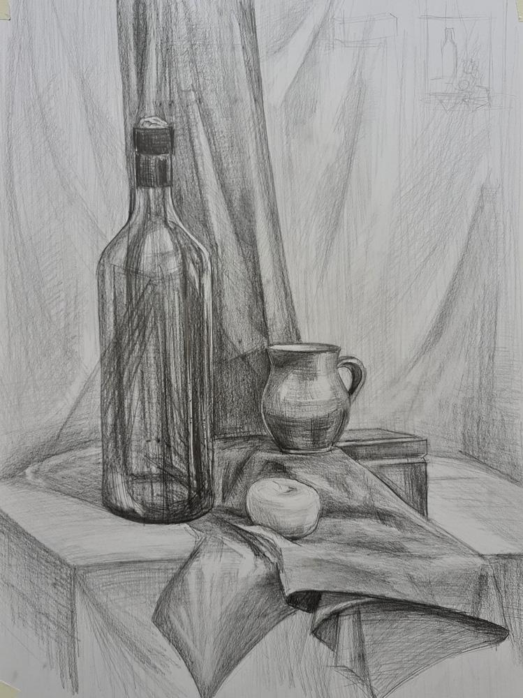 Артинтент - рисунок карандашом