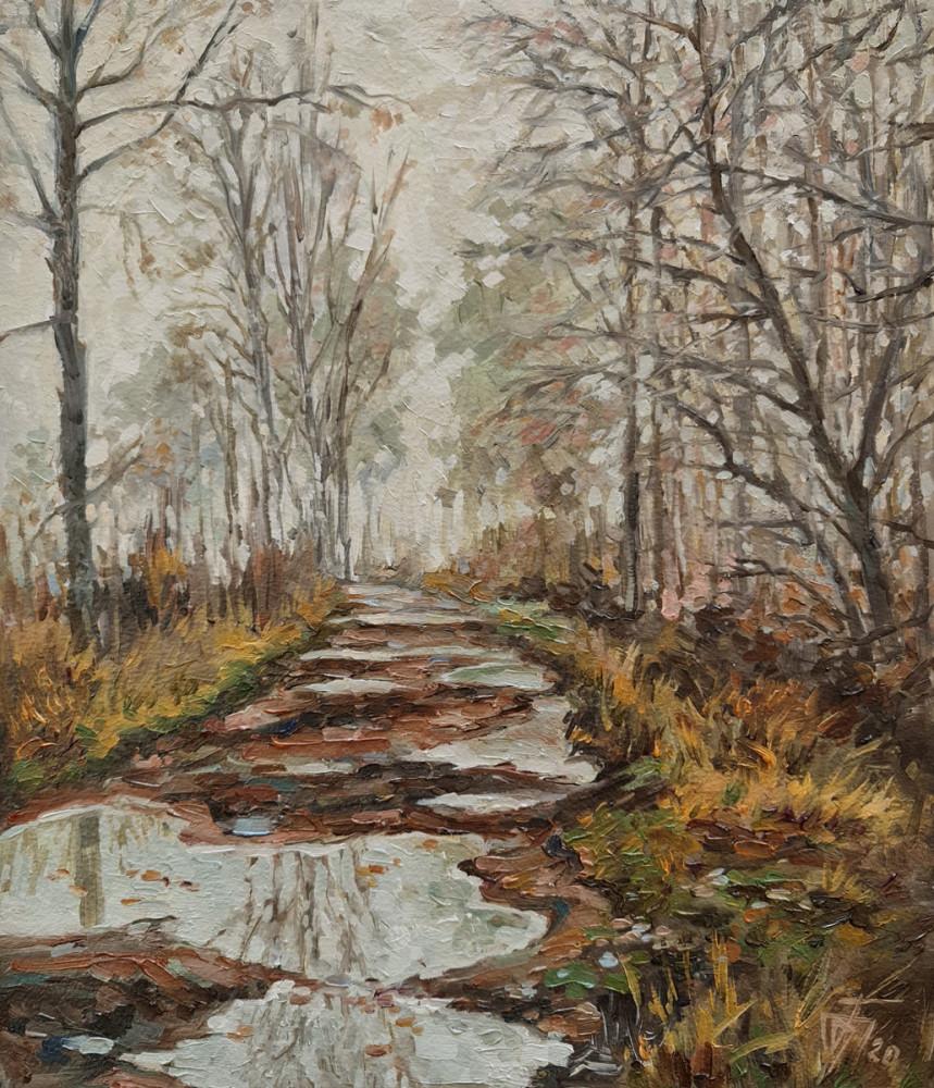 Александр Буданов - живопись маслом пейзаж