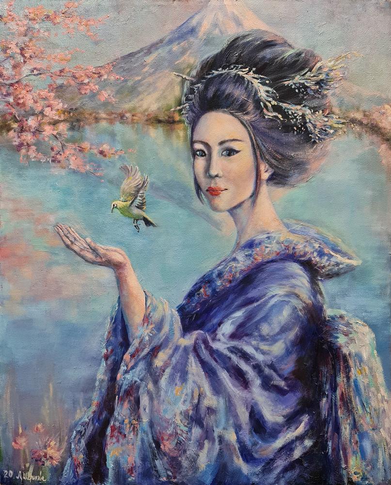 Artintent - живопись маслом портрет