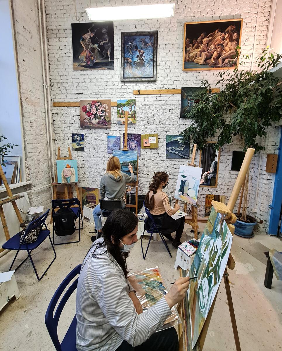 Студия рисования Артинтент на Бережковской