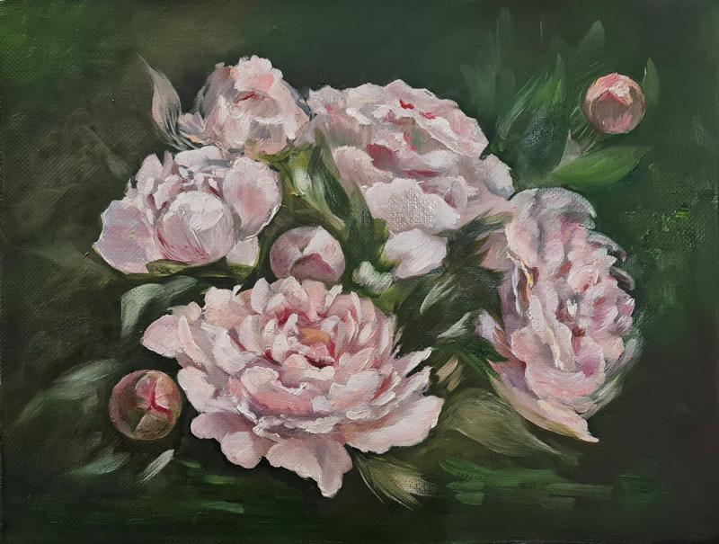 Artintent - живопись маслом, цветы