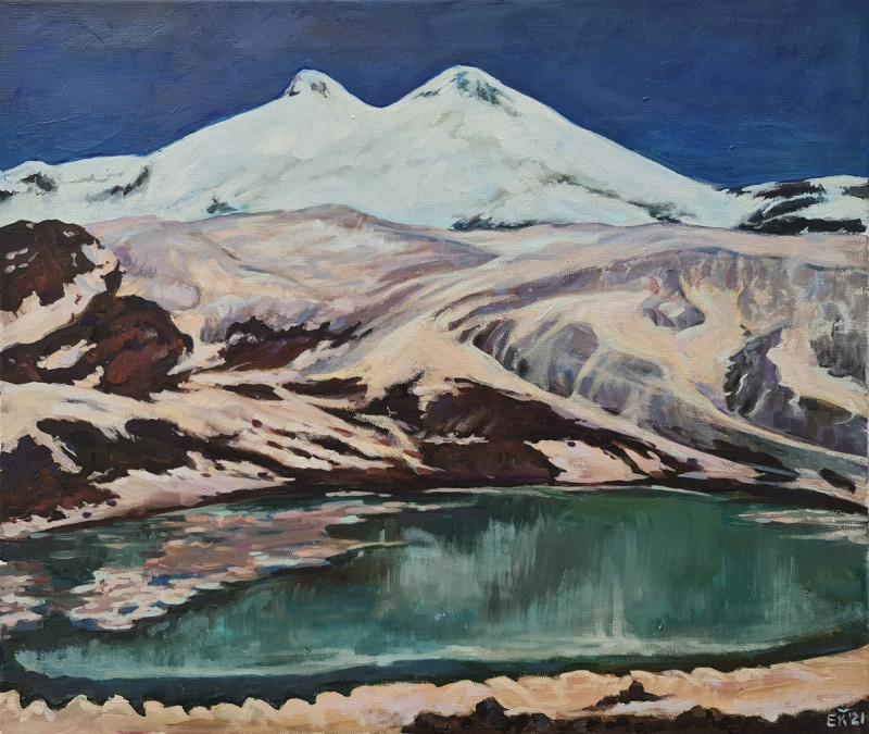 Артинтент - живопись маслом, горы