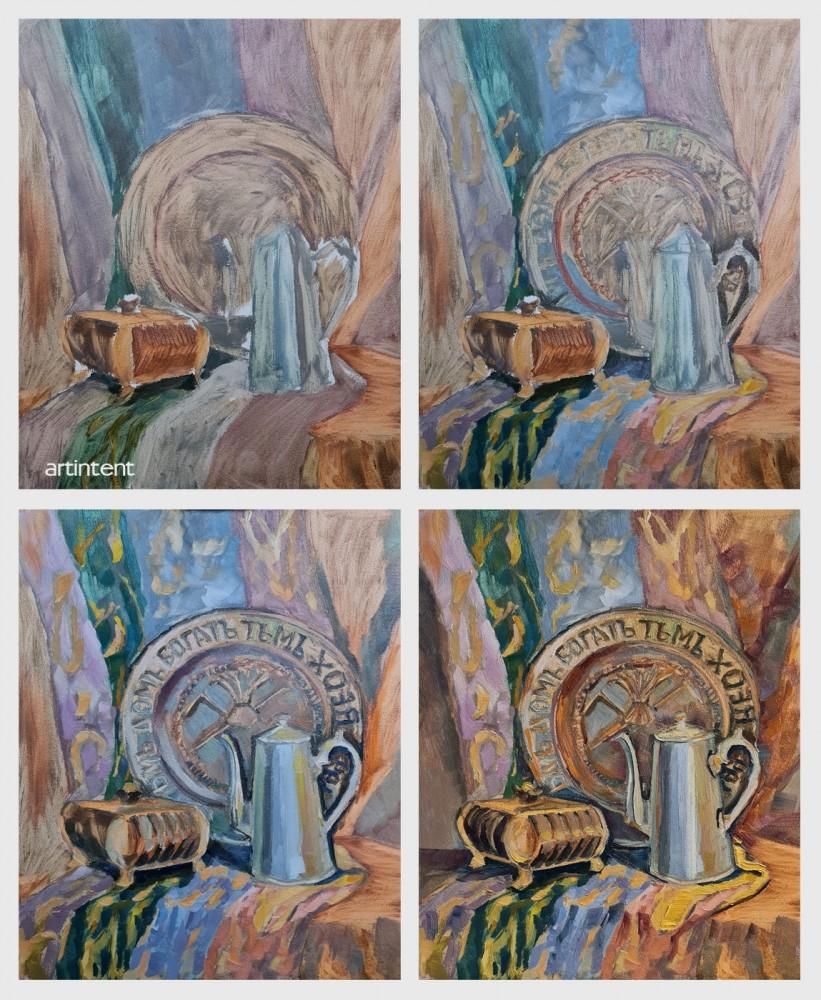 Artintent - Поэтапная живопись маслом