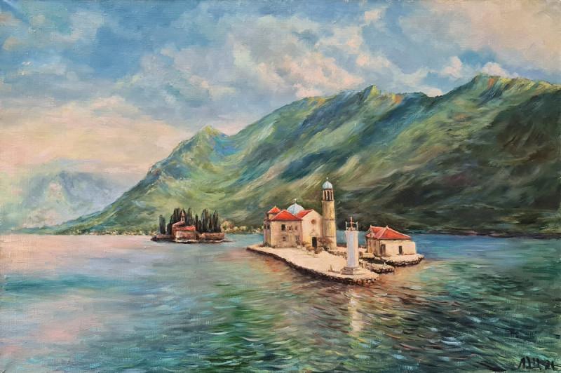 Артинтент — пейзаж, живопись маслом