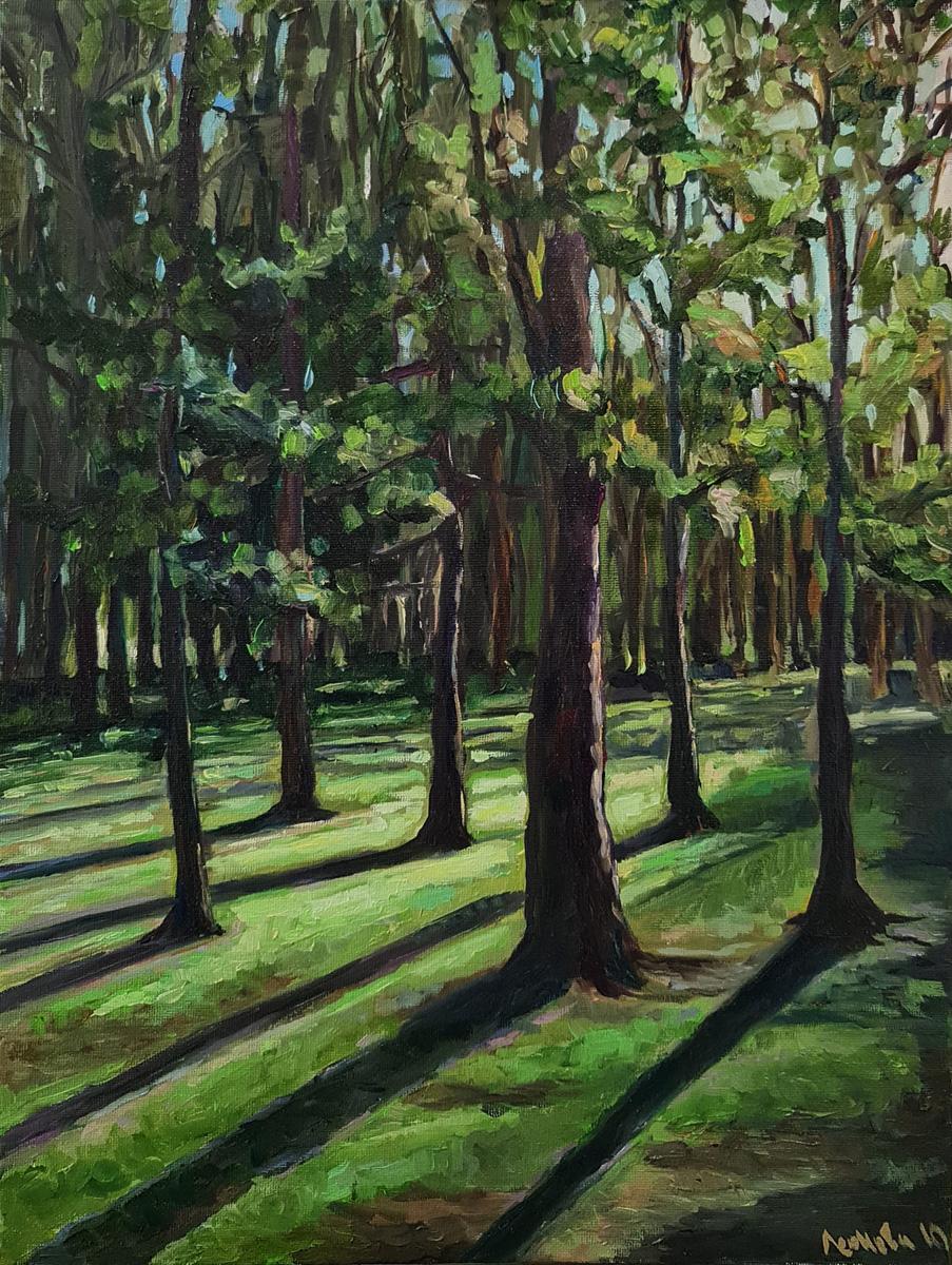 Артинтент — живопись маслом, пейзаж