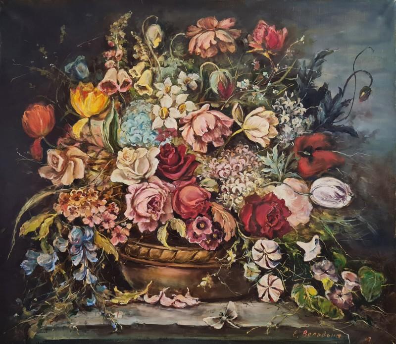 Артинтент — живопись маслом, цветы