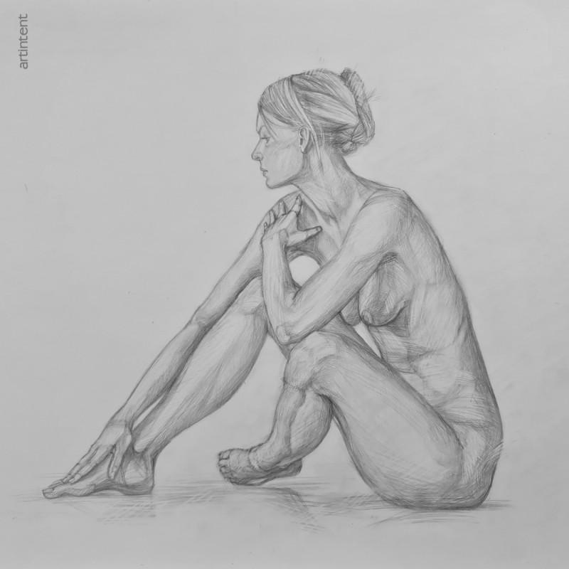 Артинтент — рисование карандашом натуры