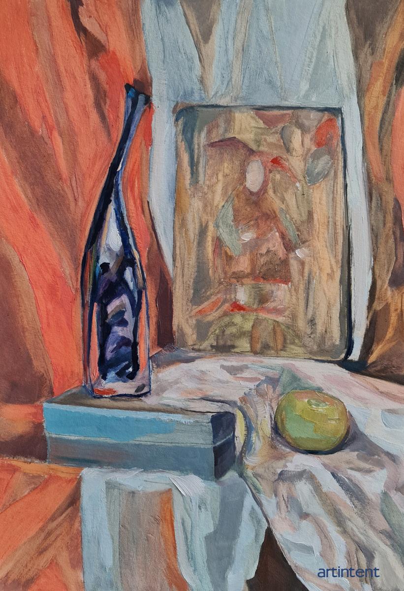 Артинтент — живопись натюрморт, этюд