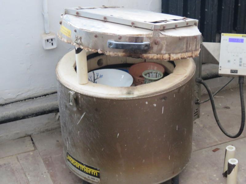 Печь для заключительного обжига изделий