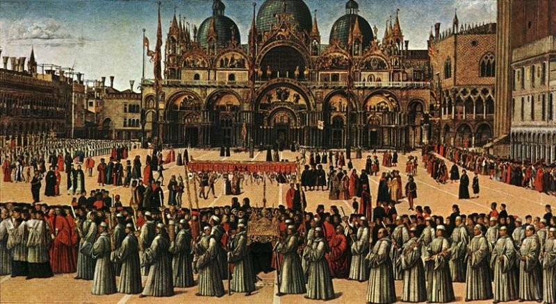 Bellini_True_Cross_procession_Venice_15thC