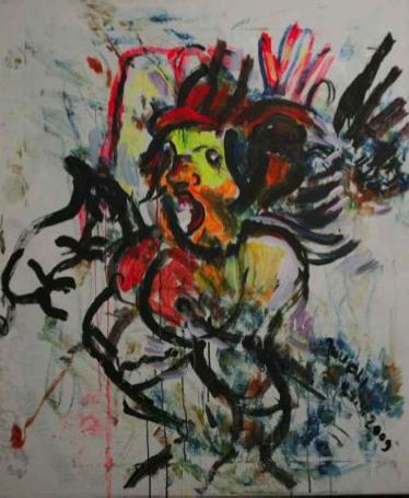 Otto Muehl, Der wilde Flug der Sexualität, 2009