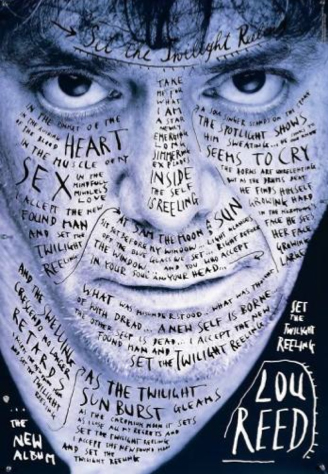 Stefan Sagmeister, Lou Reed, Set the Twilight Reeling, 1996