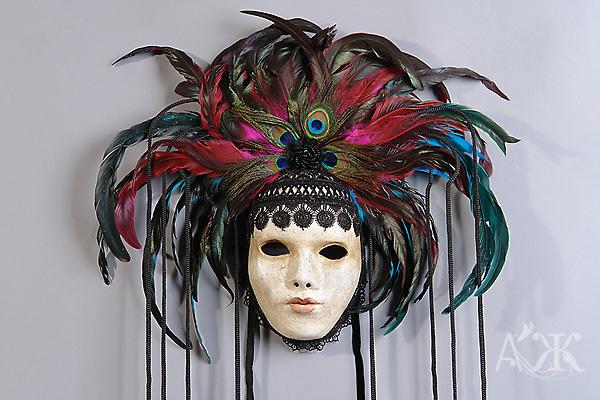 Перья для маски