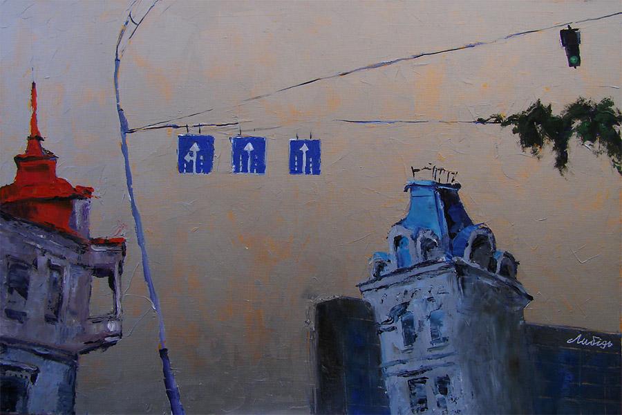 Улица Саксаганского