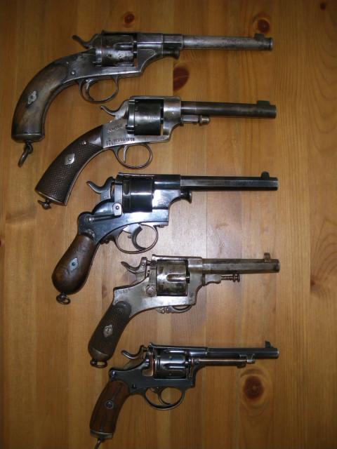 pre-1890 european service revolvers