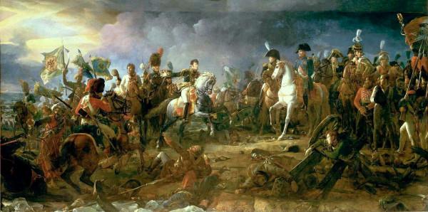 Эпизод битвы при Аустерлице. С