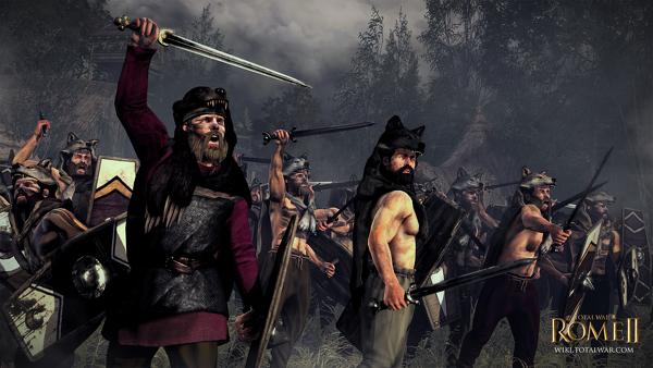 Битвы древних германцев и римлян