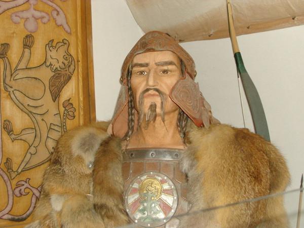 Аттила. Скульптура в венгерском музее