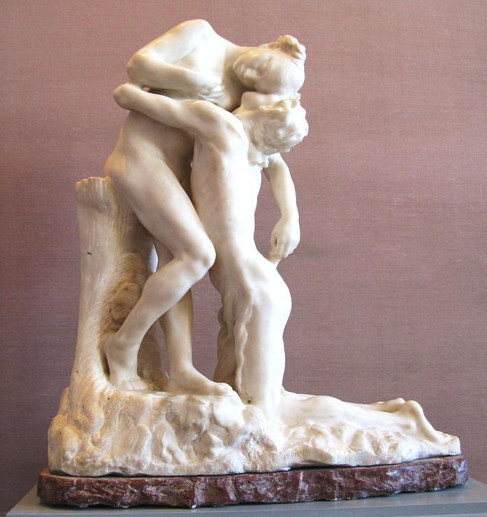 Камилла Клодель (Франция) - «Вечный кумир», 1888 г.*