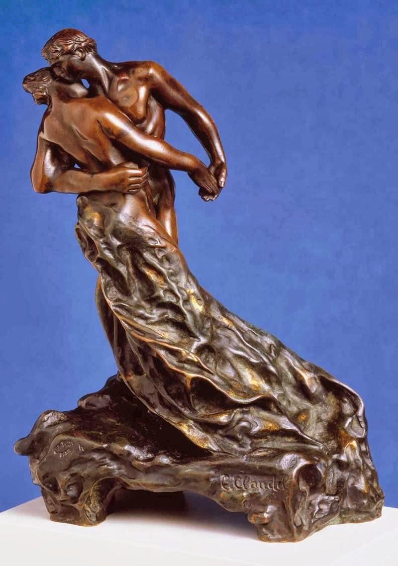 Камилла Клодель (Франция) - «Вальс», бронза, 1883 г.
