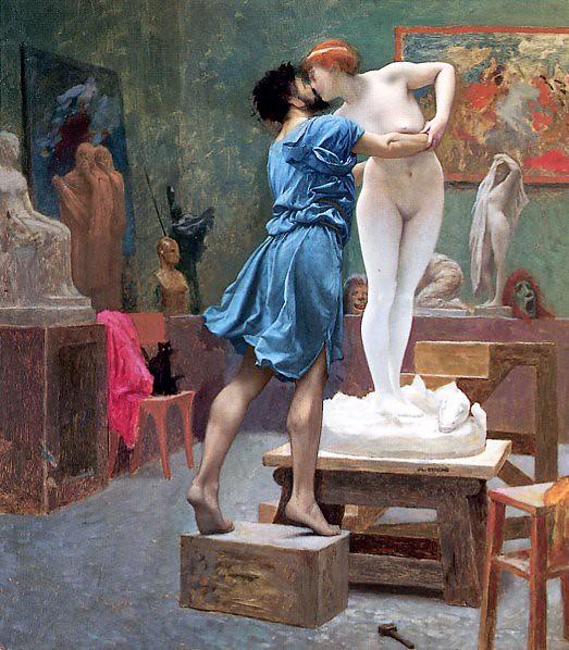 Жан-Леон Жером - «Пигмалион и Галатея», 1890 г.