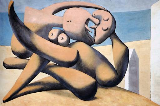 "Пабло Пикассо (Франция) - ""Поцелуй"", 1931 г."