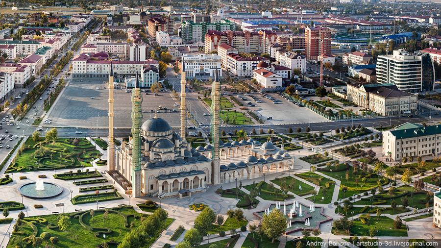Гигапиксельная панорама Грозного