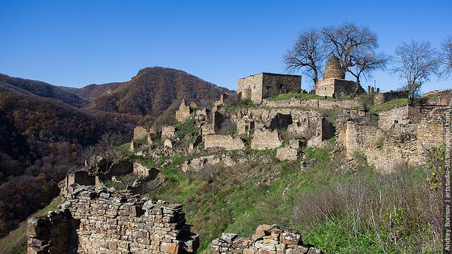 Кала-Корейш, вид на село