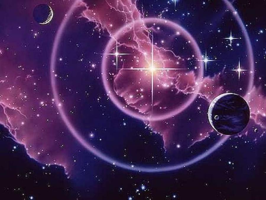 С днем рождения астрологическая открытка