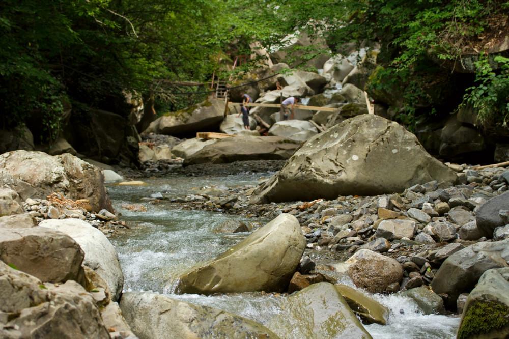 Водопад, аул Тхагапш