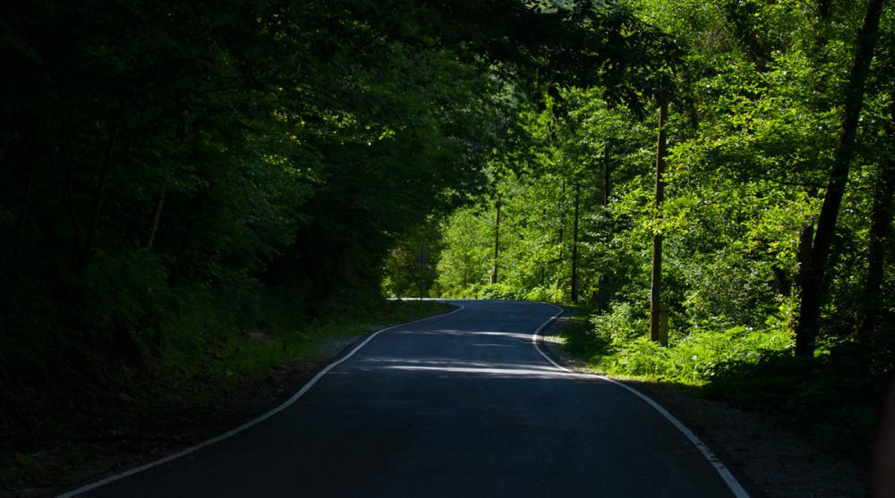 Дорога возле Марьино