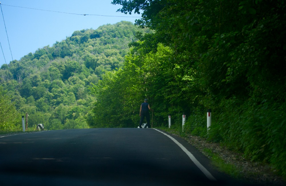 Дорога в аул Тхагапш