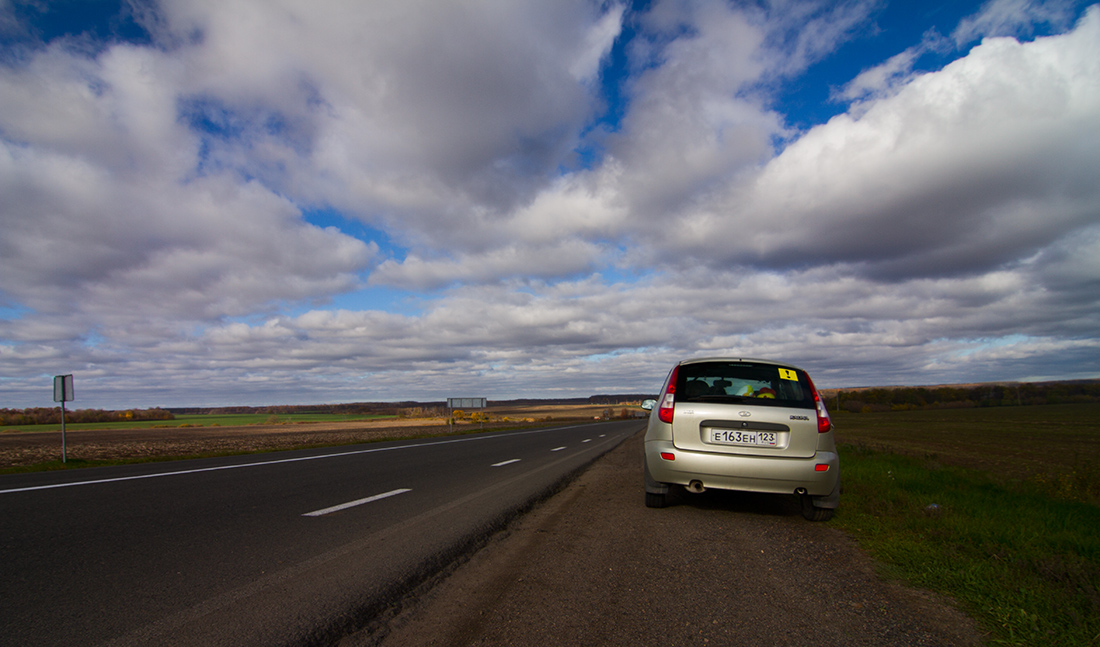Дорожный пейзаж