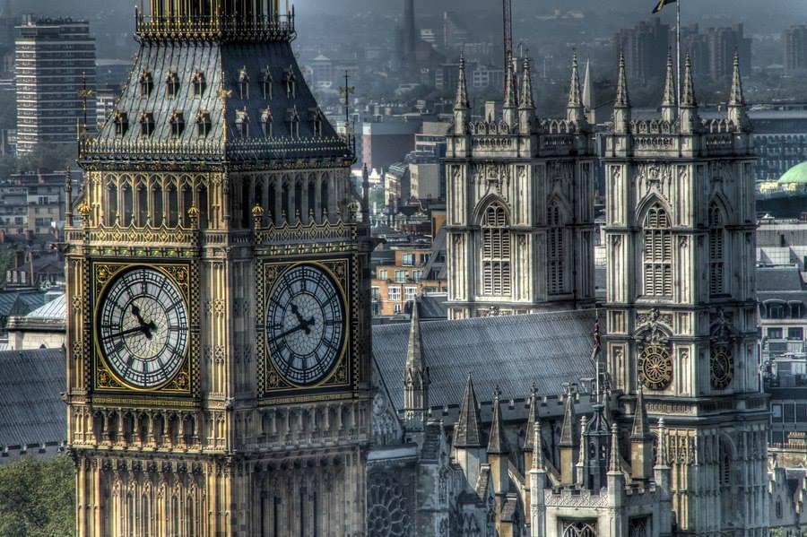 Вестминстерская башня (Биг-Бен), Лондон, Великобритания