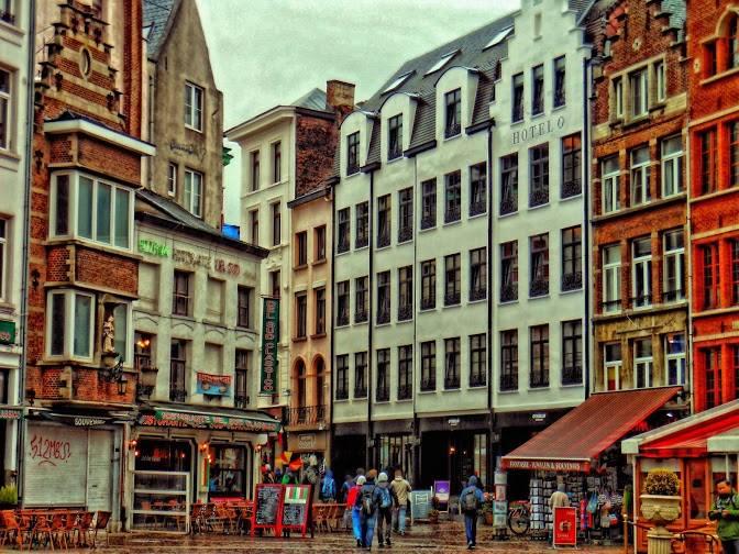 Антверпен, Бельгия 1