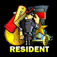 Игровой автомат Resident Резидент играть бесплатно