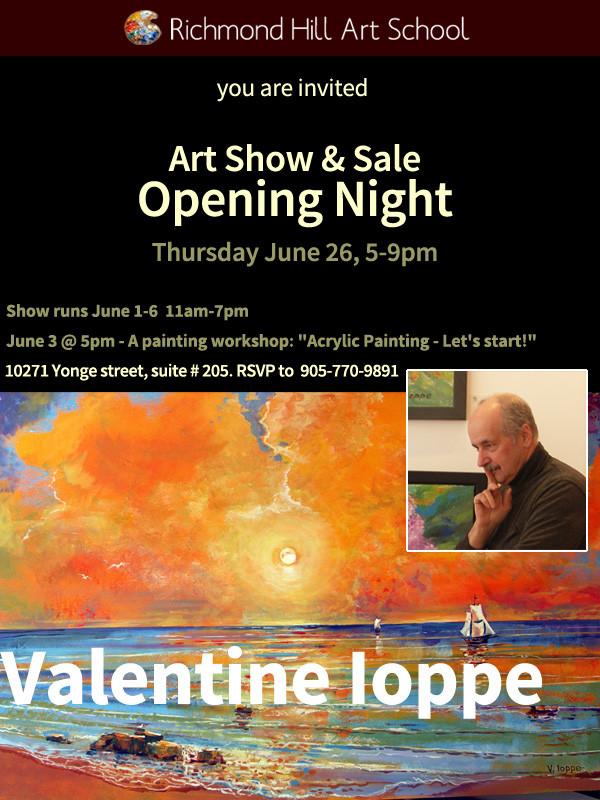 Art Show Opening