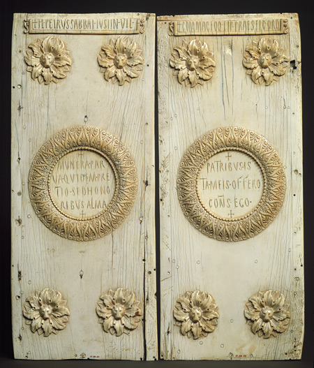 Консульский диптих, Византия