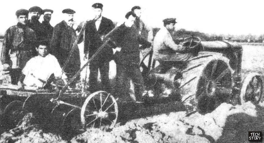 Форд - путиловец 1924