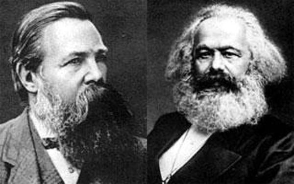 Манифест Маркс и Энгельс