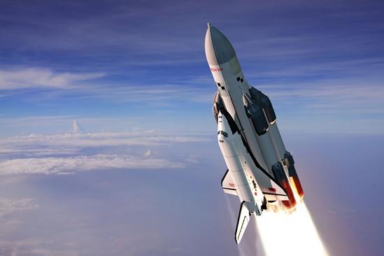 Баран на ракете-носителе