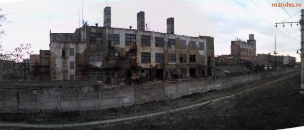 Завод опустел