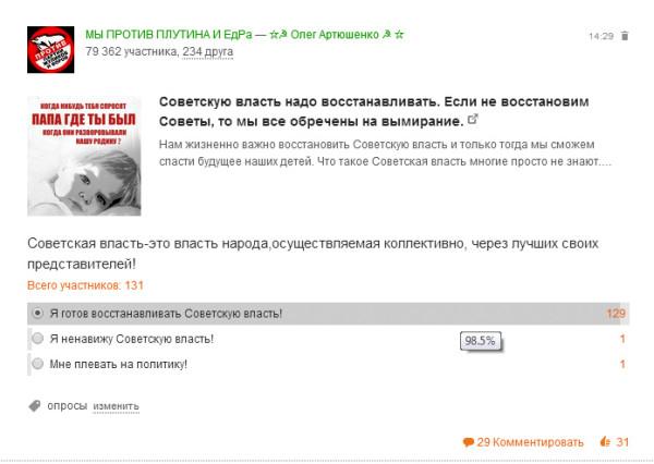 Анализ. Советская власть. Мы против Плутина